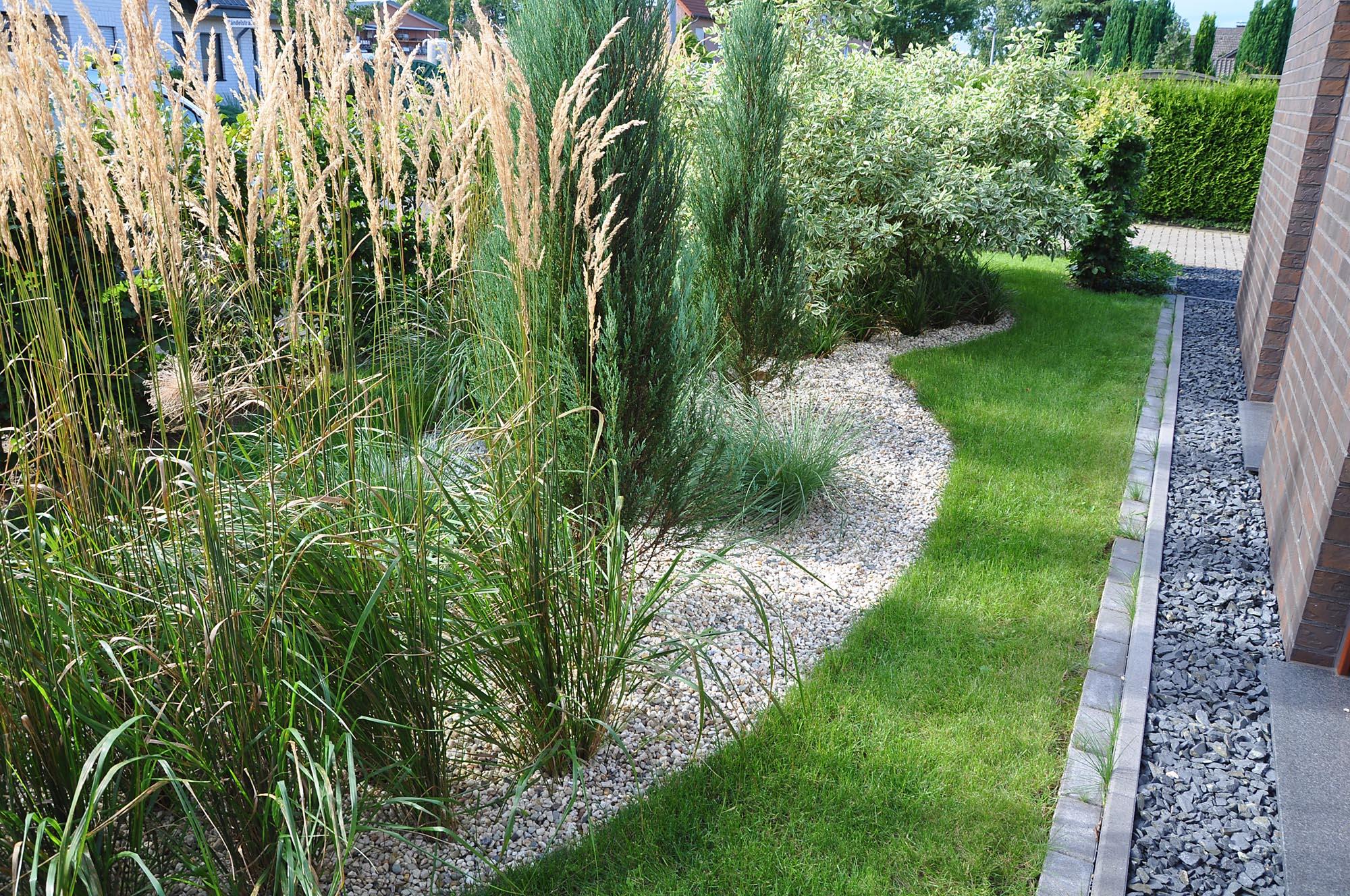 Gräser Garten gräsergarten mit stauden und gehölzen pflanz konzept